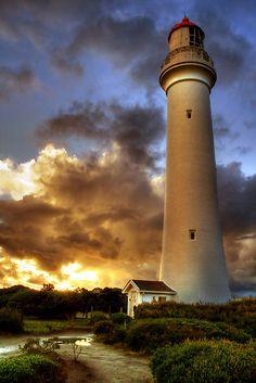 Split Point Lighthouse Aireys Inlet Great Ocean Road Victoria Australia -38.468333, 144.104444
