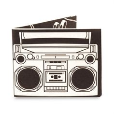 Mighty Wallet, VonMaur #MightyWallet #Black #White #Radio