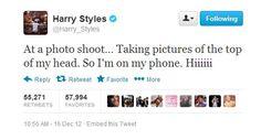 Weird tweet..... HE'S BACK!!!!