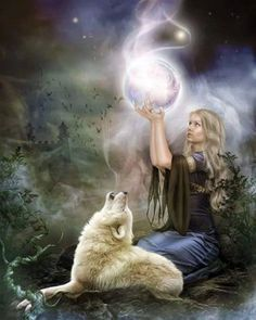 Wolf Medicine Attunement by TheConjuringShop on Etsy