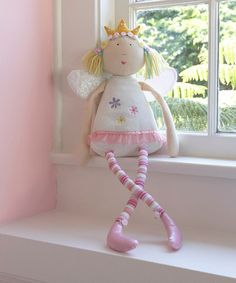 Take a look at this Pink Fairy Doll by Heart to Heart on #zulily today! PERFECT FOR JULIAS BED!!!