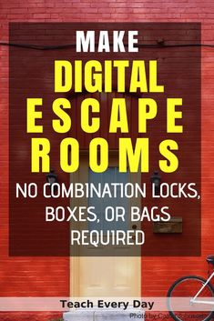 How To Make Any Worksheet Into an Escape Room in the Classroom - Teach Every Day - General School Ideas - New education Classroom Activities, Classroom Organization, Classroom Management, Classroom Ideas, Project Management, Escape The Classroom, Classroom Inspiration, Importance Of Time Management, Online Programs