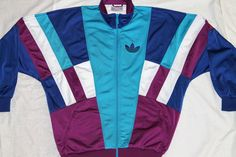 ADIDAS FIREBIRD 80s VINTAGE TRACKSUIT TOP,JACKET, RETRO,D3,OVERSIZED:MEDIUM/LARG in Clothing, Shoes & Accessories, Men's Clothing, Athletic Apparel | eBay