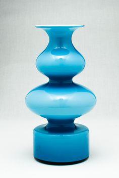 Holmegaard Carnaby vase, Per Lutken, Denmark.