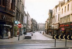"""""""The Murraygate, Dundee pic Gordon C. Dundee City, Great Britain, Old Photos, Scotland, Street View, Retro, Childhood Memories, Shops, History"""