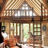 Living Room Mezzanine - 18th Century Rustic Barn