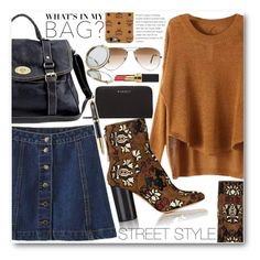 """""""Street Style"""" by stylemoi-offical ❤ liked on Polyvore featuring Isabel Marant, Ray-Ban, MCM, Givenchy, Henri Bendel, Parker, Chanel, inmybag and stylemoi"""