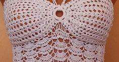 Patrones Crochet, Manualidades y Reciclado: BLUSA DE VERANO A CROCHET CON GRÁFICOS