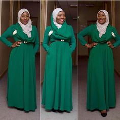 Hajia women's fashion and conservative style  #hijab