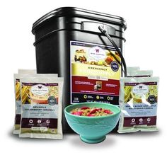 Wise Company 120 Serving Breakfast Only Grab And Go Emergency Food Supply Kit Best Emergency Food, Emergency Food Storage, Emergency Food Supply, Emergency Preparedness, Wise Food Storage, Long Term Food Storage, Camping Breakfast, Grab And Go Breakfast, Cinnamon Cereal