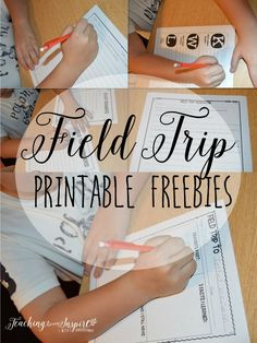 Field Trip Activities {Free Field Trip Resources} - Teaching to Inspire with Jennifer Findley