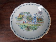 Bell England Hand Painted TEA CUP AND Saucer SET With Victorian Lady | eBay