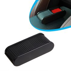 Universal Car Roll Sliding Key Storage Box Auto Push-pull Container Cell Phone Holder Box  16090502