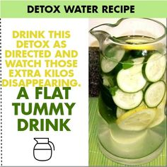 Ingredients: Direcyions: Place all ingredients in a large pitcher, Let the ingredients blend together overnight. Drink the blend during the coarse of the day. Continue doing this till you get the results.