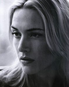 Kate Winslet  She is such a natural beauty!