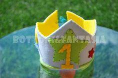 Bottoni&Fantasia: Coroncina di compleanno