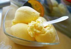 jugando en mi cocina: Helado de naranja