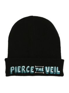 Pierce The Veil Logo Watchman Beanie | Hot Topic