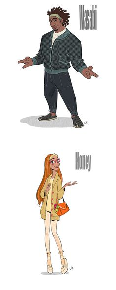 Wasabi and Honey Lemon Big Hero 6