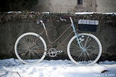Great lady custom named 'Mari by Hamlet and Sons Cycling, Bike, Beauty Art, Bicycles, Lady, Sons, Crafts, Behance, Bicycle
