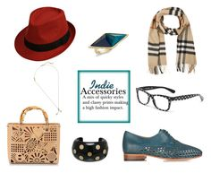 """Indie Accessories"" by horse-dance-princess on Polyvore featuring Burberry, Dolce&Gabbana, Chanel, House of Harlow 1960, Dieppa Restrepo, Tosca Blu and Marc Jacobs"