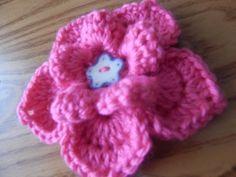 Flor # 5 para la Banda de 2 agujas - YouTube