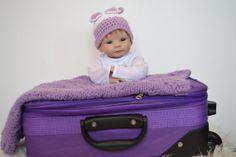 Newborn Hat Newborn Bonnet Unique Hat Unique by knitbabyclothes, $22.00  Use a coupon code next time you visit: GREATBABYCLOTHES