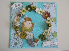 carte turquoise magnolia