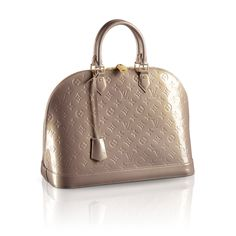 Louis Vuitton Alma MM in Beige Poudre - just added to my collection!