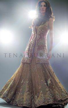 Valhalla Opus Code: B36 www.tenadurrani.com/valhalla-opus For queries, orders and appointments kindly email at info@tenadurrani.com or contact +92 321 232 4600. Visit www.tenadurrani.com to view the bridal collection, 'Omorose'. Model Fouzia Aman Photography Zara Tareen Makeup @wajid khan