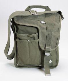 Look at this #zulilyfind! Green Deployment Bag #zulilyfinds
