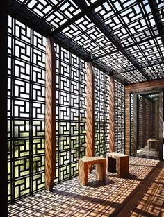 geometric pergola screens and shade                                                                                                                                                      More