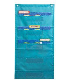 Look what I found on #zulily! Blue Storage File Folder #zulilyfinds