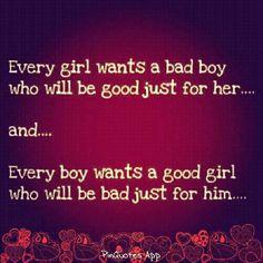 good girls/bad guys