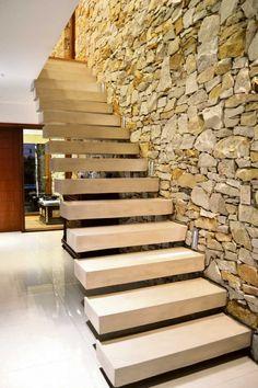 #Escalera #Casa #Proyecto Arq. M. Daniela René - Arq. Marcelo A. Ponce http://bit.ly/1R2XrGG