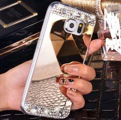 Bling Rhinestone Samsung Galaxy J3 J5 J7 2016 S7 Edge S6 A3 A5 A7 Grand Prime…