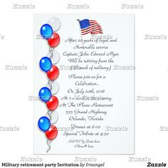 45 best military retirement party invitations images on pinterest in