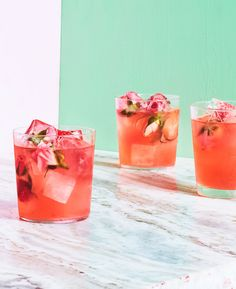 Spiked Rose Lemonade Recipe | Epicurious