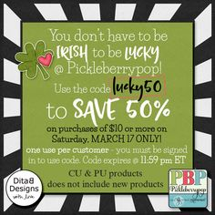 DitaB Designs: ‼️ SALE 50% only March 17 ‼️CU and PU products ...