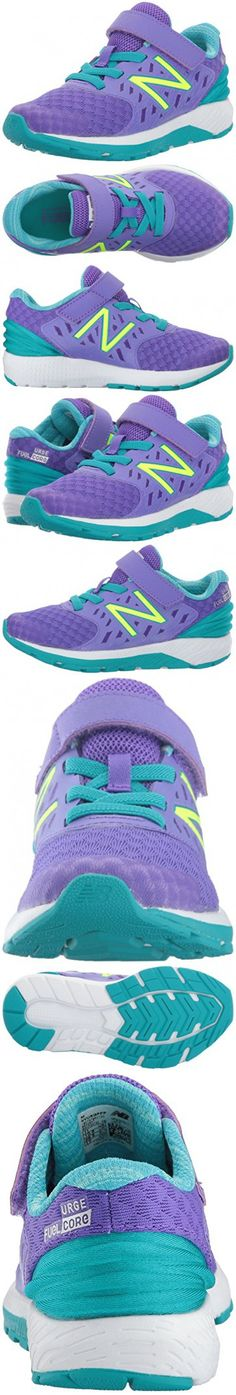 858daac7bec New Balance Girls  Urge V2 Hook and Loop Road Running Shoe