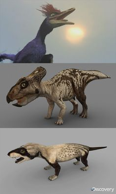 Characters Dinosaur Revolution by Swordlord3d