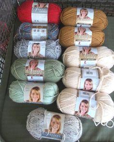 Lion Brand Yarn Company 1-piece Vanna/'s Choice Yarn Vannas Silver Heather