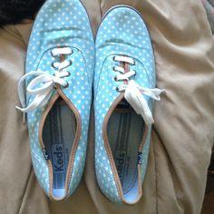 Polka dot keds! Super cute keds! Lightly worn! keds Shoes