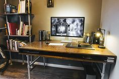 For years I've struggled with my workspace, I've had loads of different ones, from small ones in the corner of the living room in my old apartment to ones