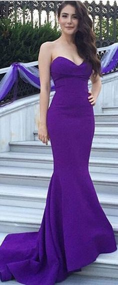 2018 New Design Long Simple Purple Strapless Prom Dresses,Modest Prom Dresses,Cheap Prom Gowns,Mermiad Evening Dresses 2019 Evening Dresses Prom Dresses Modest Evening Dresses Cheap Evening Dresses Simple Prom Dress Prom Dresses 2019 Modest Prom Dresses Cheap, Strapless Prom Dresses, Simple Prom Dress, Prom Party Dresses, Bridesmaid Dresses, Prom Gowns, Dress Prom, Dress Long, Dance Dresses