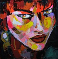 Palette knife painting portrait Palette knife Face Oil painting Impasto figure on canvas Hand painted Francoise Nielly 06 Redhead Art, Palette Knife Painting, Cheap Paintings, Portrait Art, Painting Portraits, Face Art, Oeuvre D'art, Les Oeuvres, Canvas Wall Art