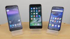 LiPhone 7 Plus met du temps pour se recharger comparé au Galaxy S7 Edge et Pixel XL