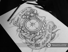 TATTOO DESIGN by Marcelo Schultz, via Behance