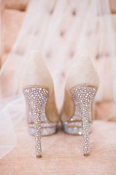 Romantic powder pink wedding shoes - My wedding ideas