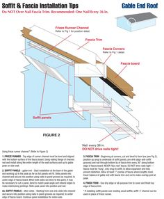Gable Soffit And Fascia Construction In 2019 Diy Home